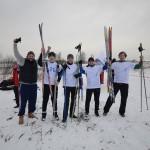 XVI традиционные соревнования МГО Профавиа по лыжным гонкам (эстафете) 2016 г.
