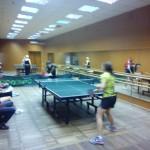Межотраслевые молодёжные лично-командные соревнования по настольному теннису